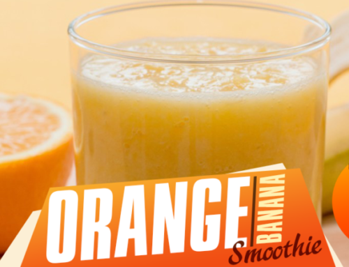 Super 8 Orange-Banana Smoothie