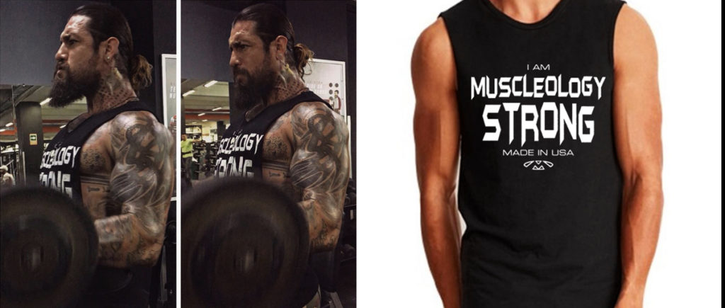 Muscleology Strong Tee